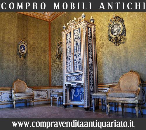 Compro mobili antichi compravendita antiquariato for Compro mobili milano