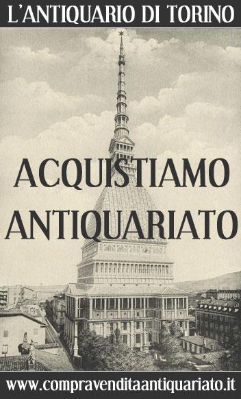 Antiquario Torino compro vendo antiquariato quadri dipinti arredi mobili antichi